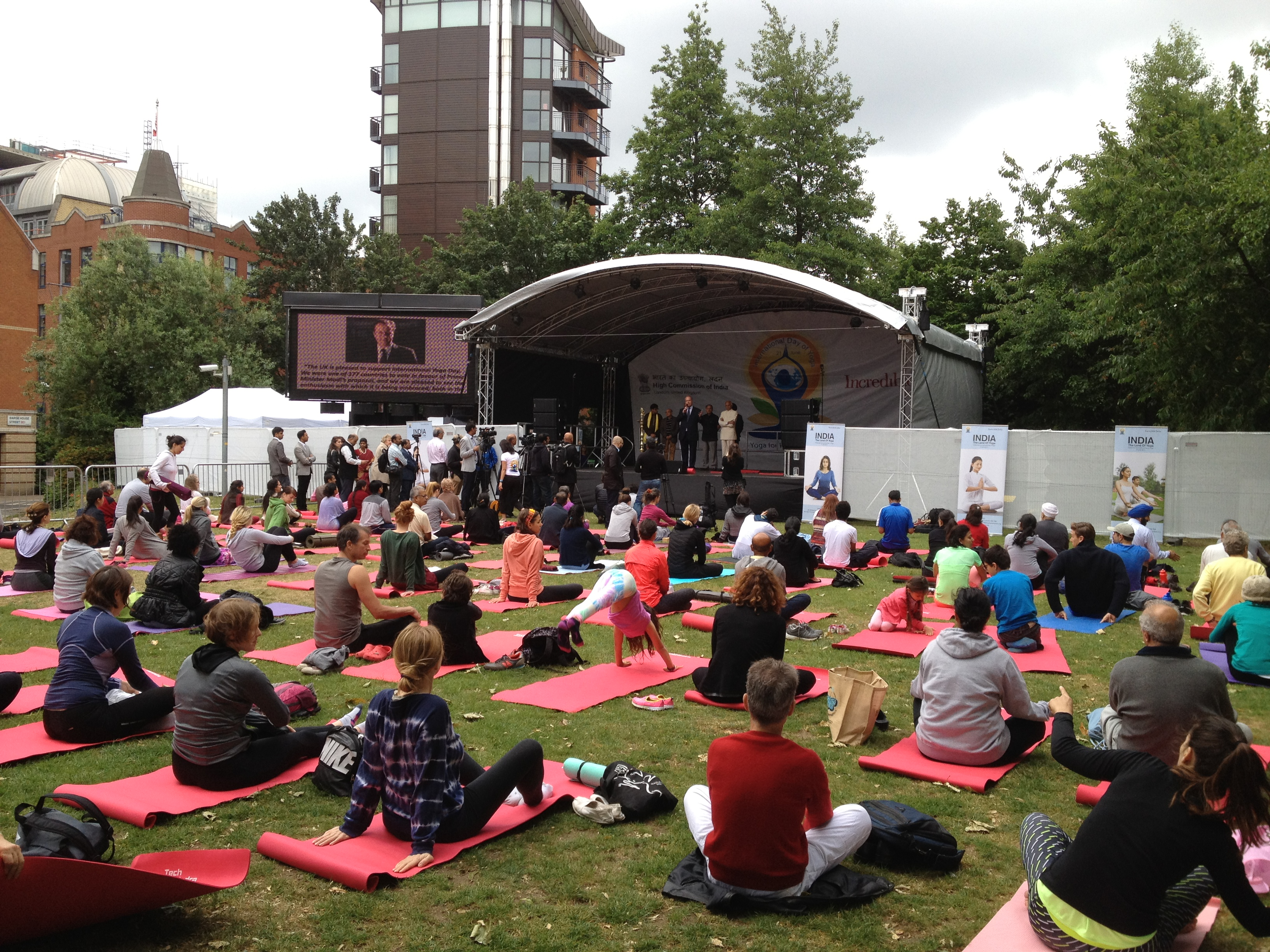 Yoga Day London