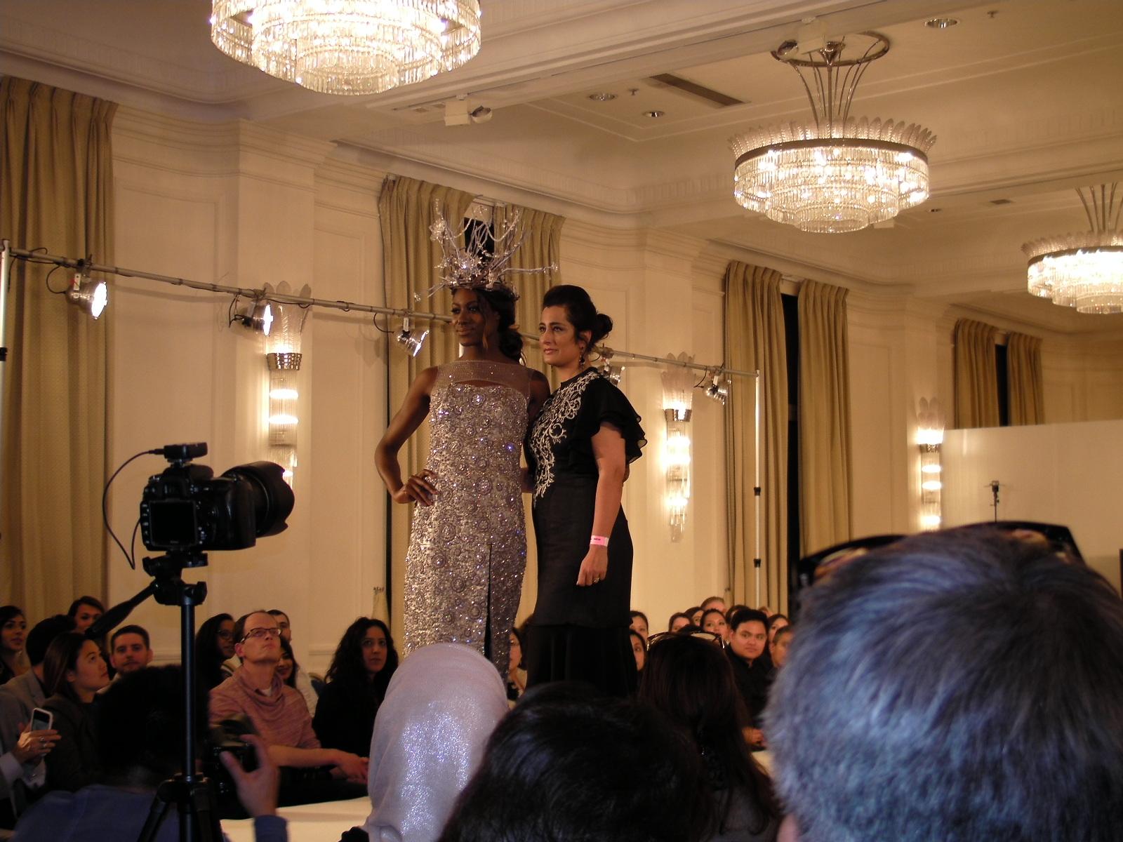Raishma designs at LFW 2016 Savita Kaye House of Ikons London