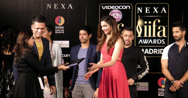 Deepika Padukone IIFA 2016 Madrid Press Conference Journalism News network