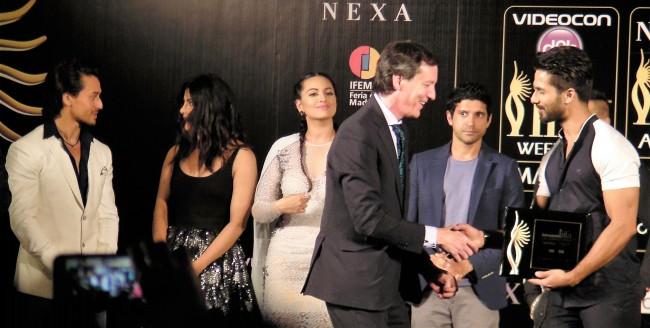 Shahid Kapoor IIFA 2016 Madrid Press Conference Journalism News network