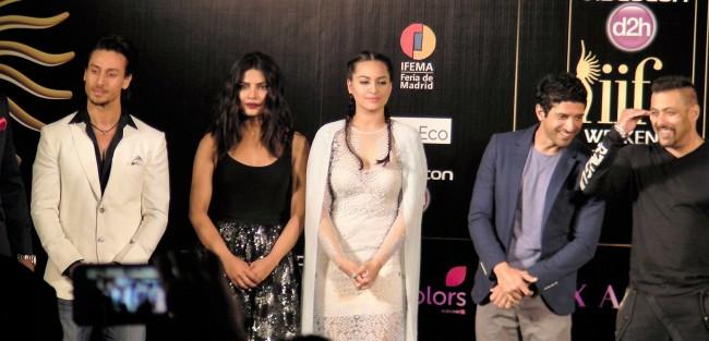 Salman Khan, Farhan Akhtar, Sonakshi Sinha, Priyanka Chopra, Tiger Shroff at IIFA 2016 Madrid Jnewsnetwork