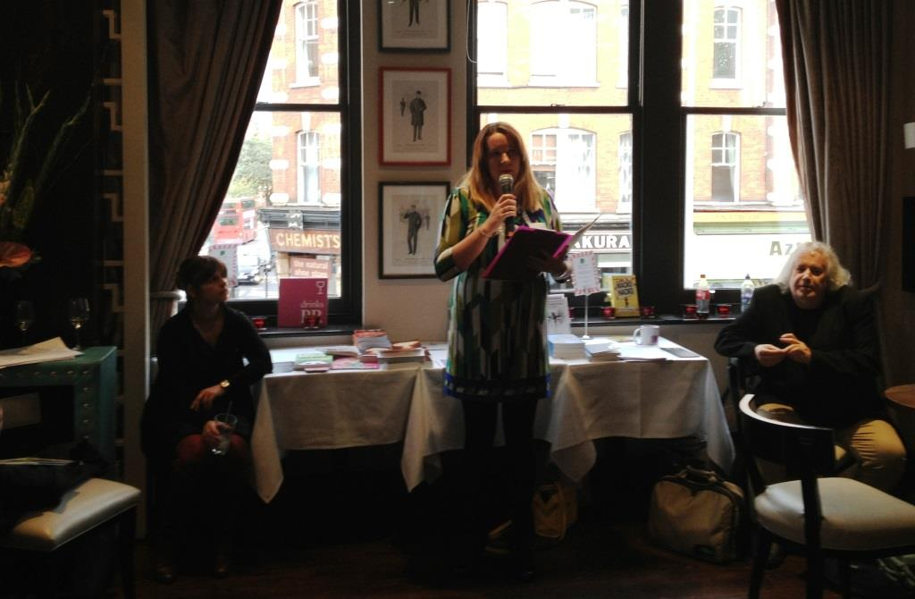 Helen Literally PR event helping Authors held in Chelsea London