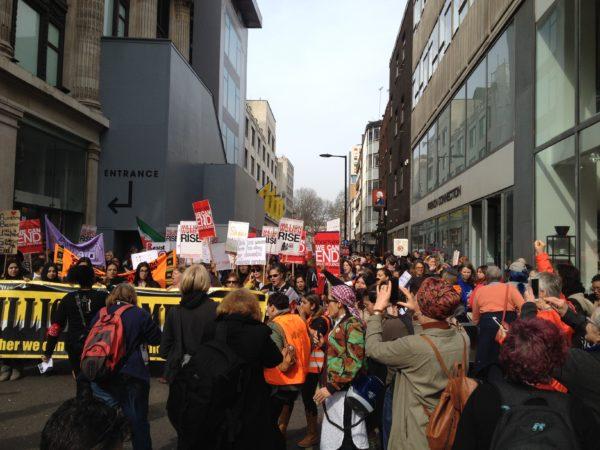 Million Women Rise March london 2017