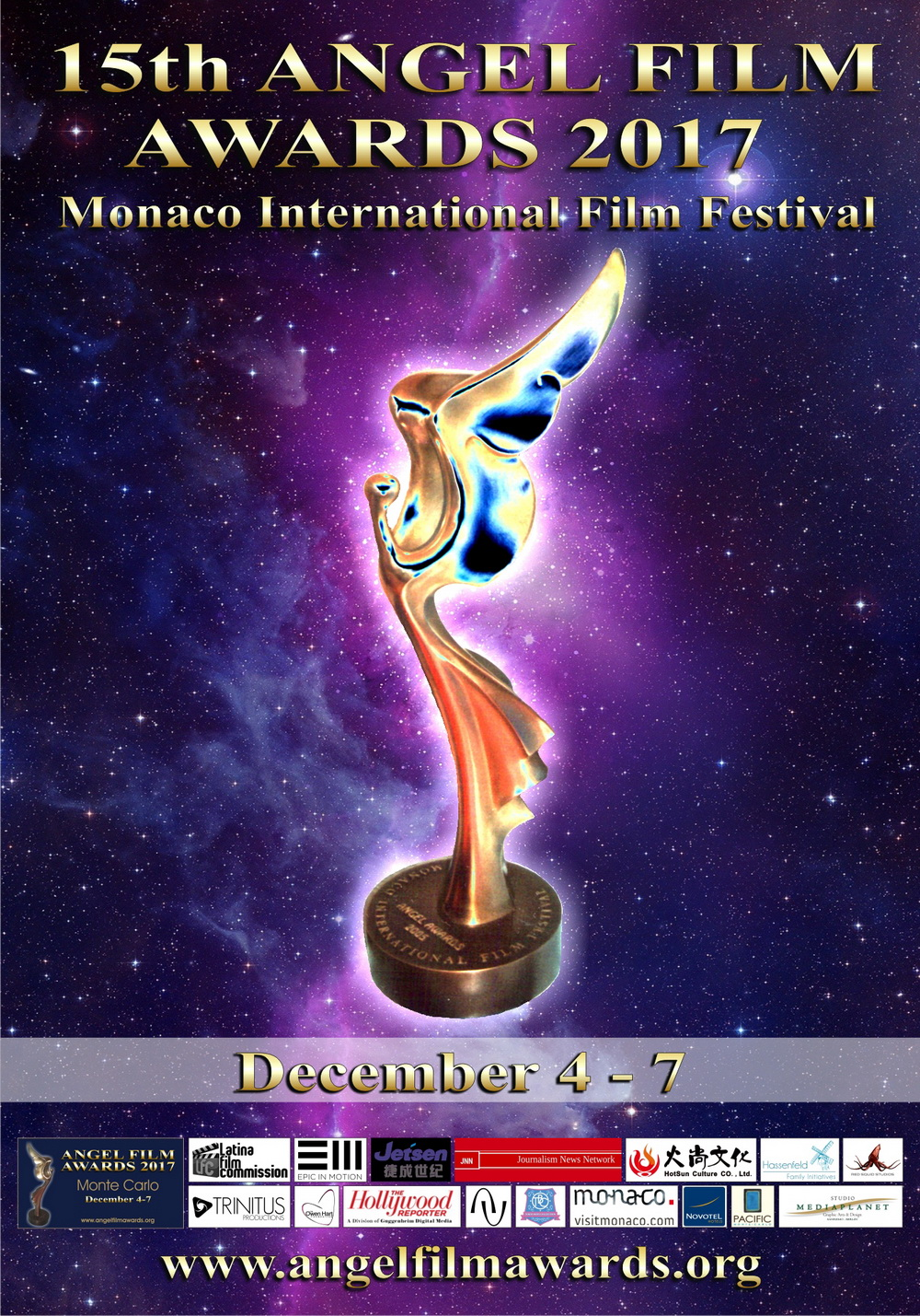 2017 Angel Film Awards Monaco