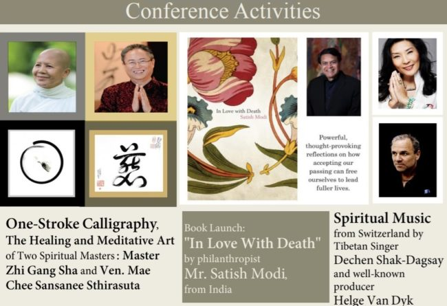 Satish Modi book in love with death launch in Thai