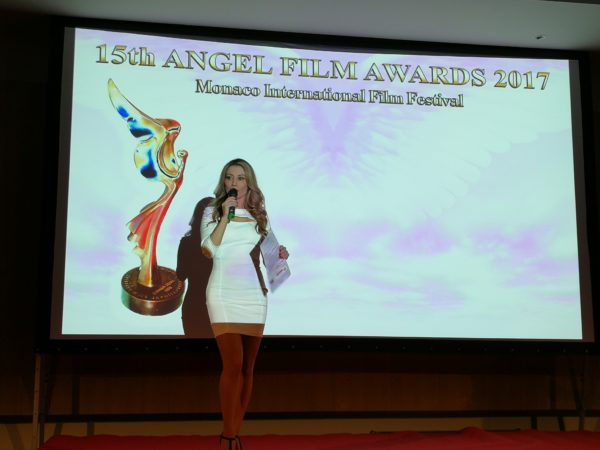 Antonella Salvucci at Monaco International Film Festival highlights by Journalism News Network
